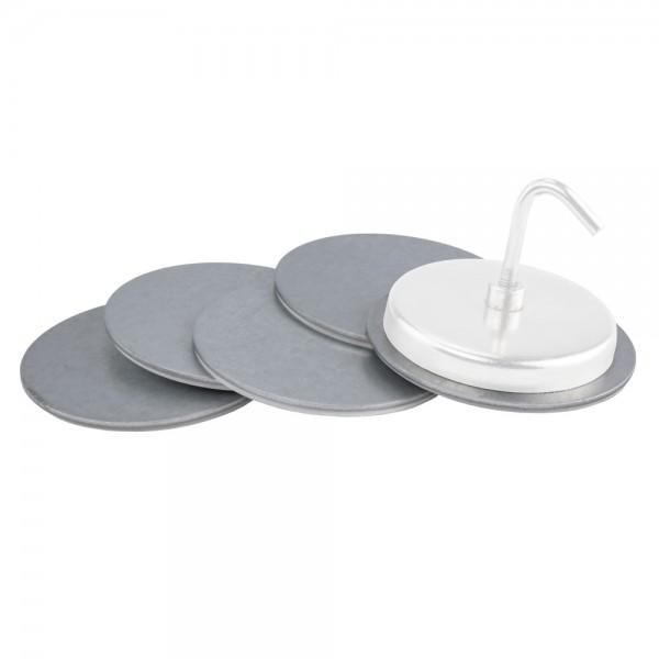 Klebeplatten für Magnete