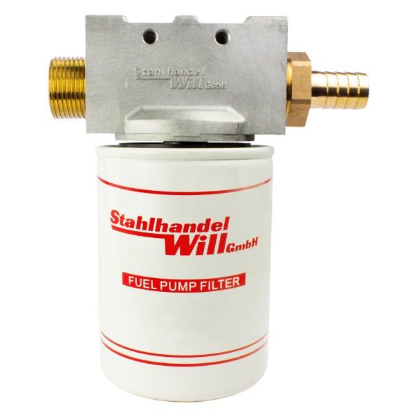 Ölfilterhalter mit Gewindebohrungen (mit 0,5 ℓ Ölfilter)
